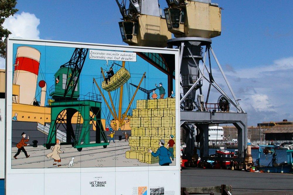 Tintin et les 7 boules de cristal | Saint-Nazaire | France |