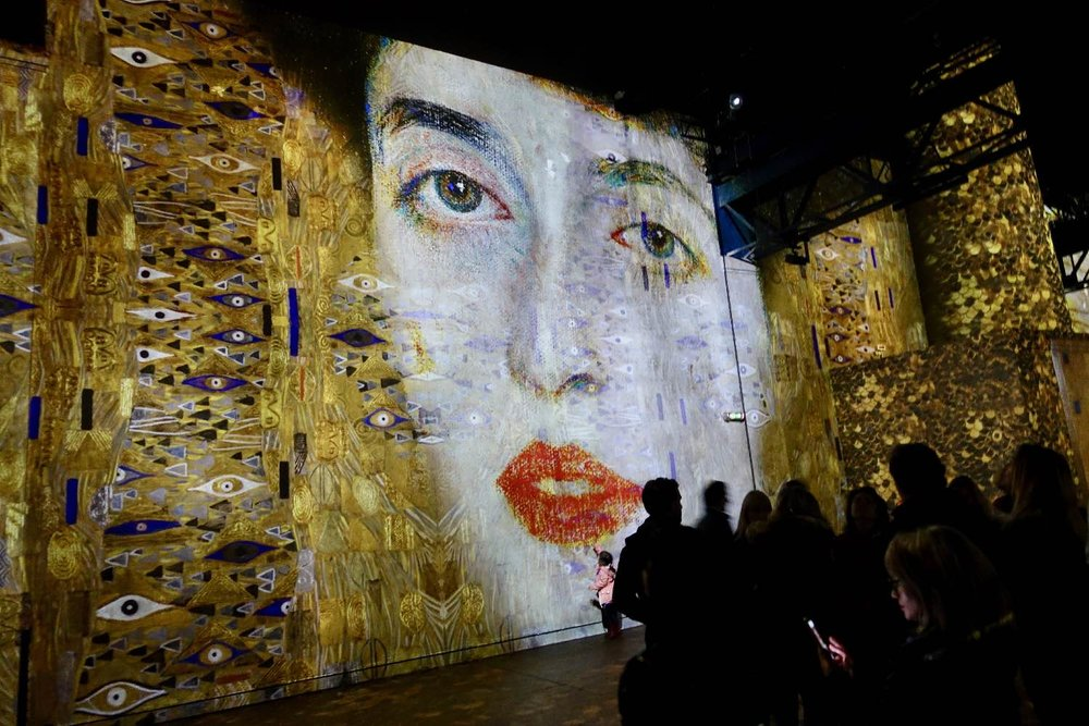 Klimt 1 | L'Atelier des Lumières | Paris | Photo sandrine cohen