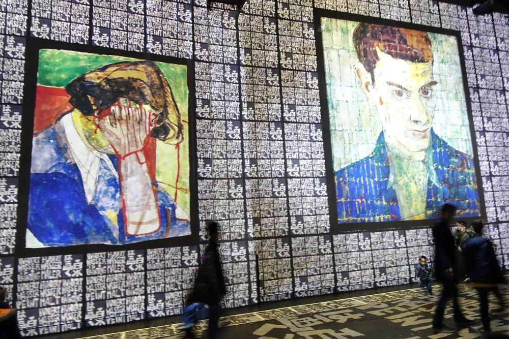 Hundertwasser 1 | L'Atelier des Lumières | Paris | photo sandrine cohen