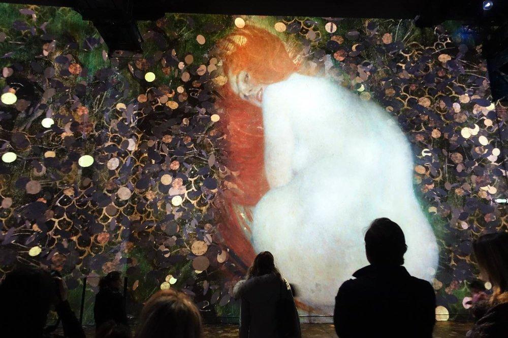 Klimt 2 | L'Atelier des Lumières | Paris | Photo sandrine cohen