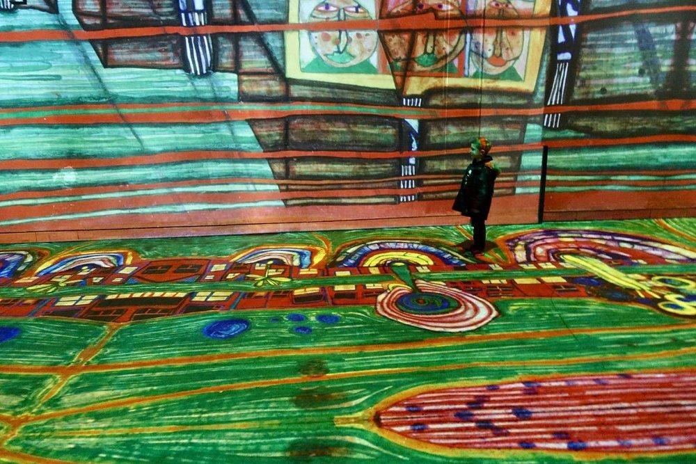 Hundertwasser 2 | L'Atelier des Lumières | Paris | photo sandrine cohen