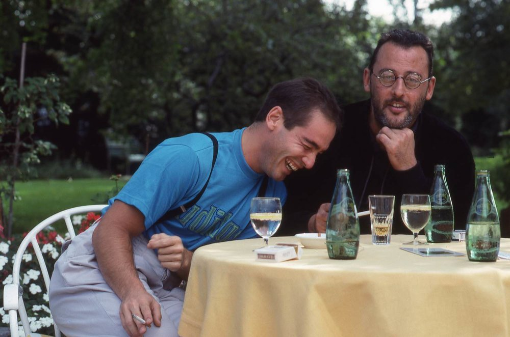 Jean Reno - Jean-Marc Barr | Zurich 1988 | Photo sandrine cohen