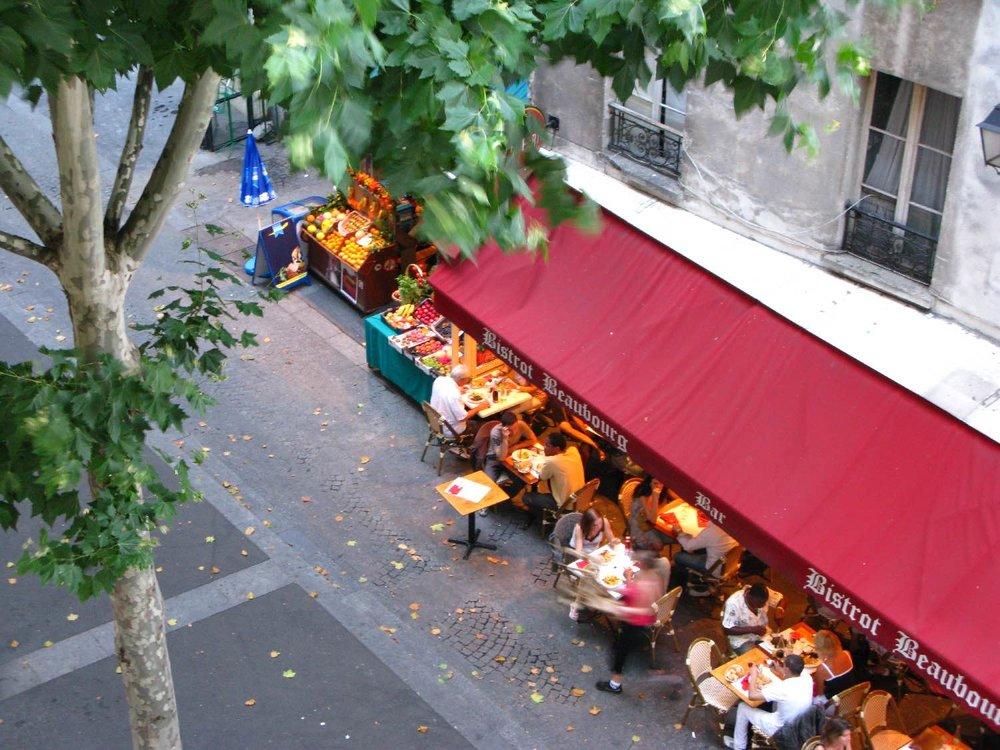 Paris | Cafe parisien | Epicier arabe | photo sandrine cohen