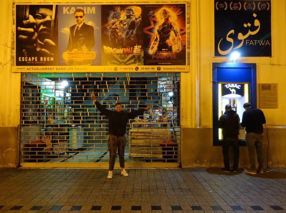 Tunis | Tunisia | Avenue Habid Bourguiba | Cinema | ©sandrine cohen