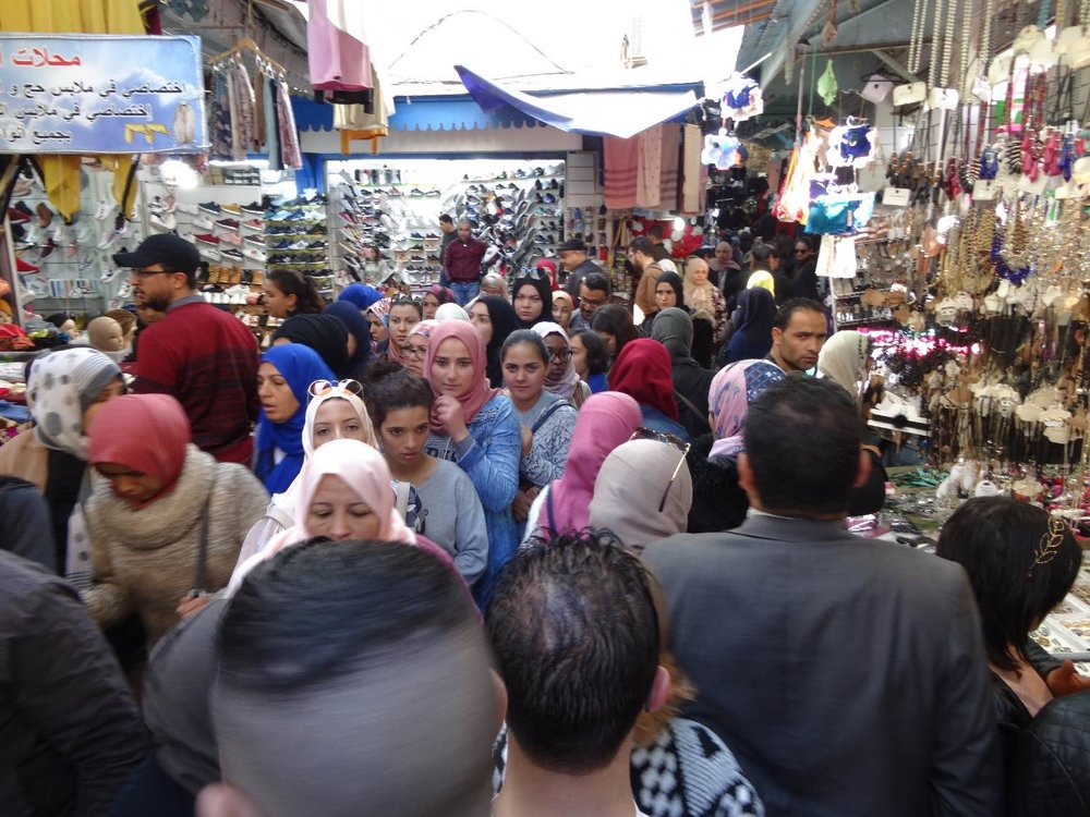Tunis | Tunisia | Medina Tunis | Foule | ©sandrine cohen