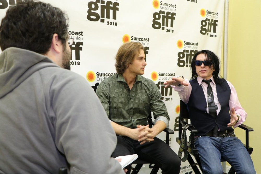 """Cult sensations Tommy Wiseau and Greg Sestero talk with Jay Cridlin of the Tampa Bay Times about their new film, """"Best F(r)iends""""premiering at GIFF."""