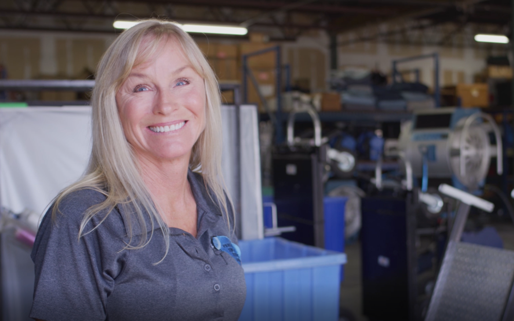 Edie Burns, owner/operator at Production Services & Systems -