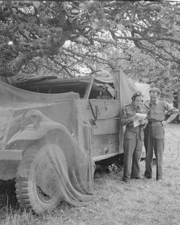 A typical White scout car used in Normandy by Phantom patrols.