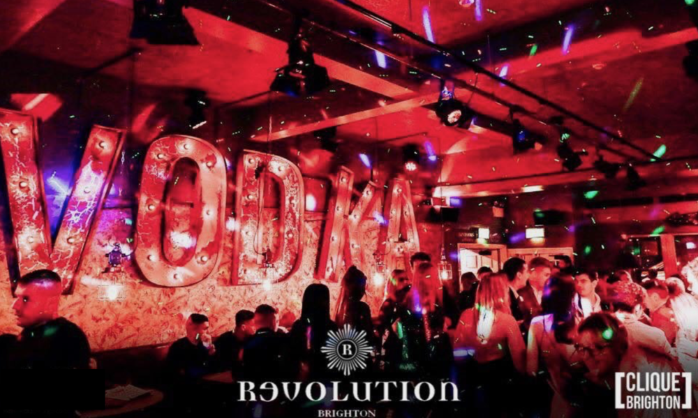 DISCOUNTED ENTRY AT REVOLUTION BRIGHTON - ON WEDNESDAYS, FRIDAYS AND SUNDAYS (WITH CARD SHOWN AT DOOR)
