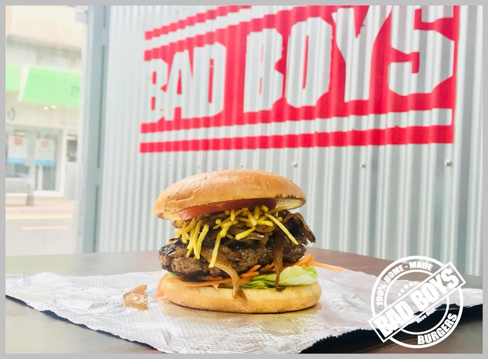 15% OFF BURGERS - AT BAD BOYS BURGERS (IN STORE ONLY)