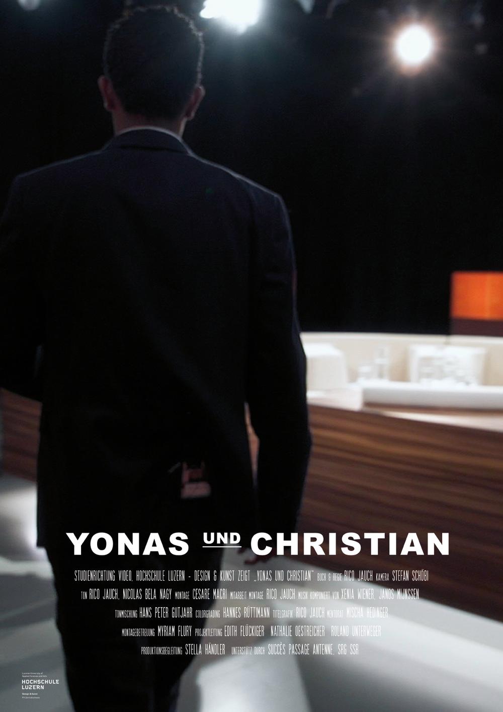 Yonas und Christian -