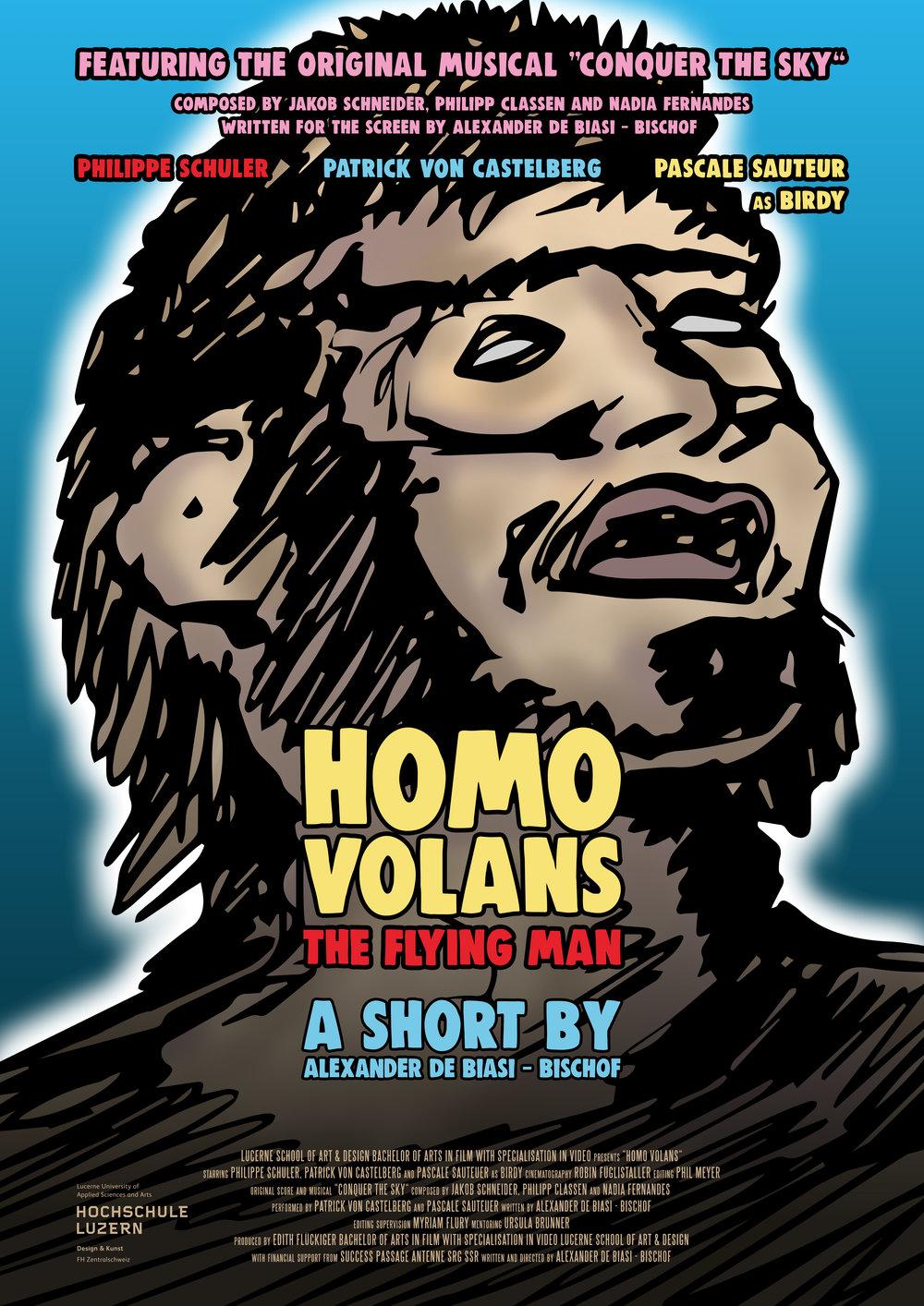Homo Volans - essay, 10', 2018