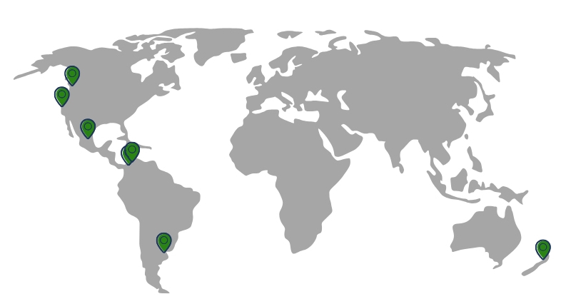 Places I've lived: Barranquilla, Cartagena, Buenos Aires, Auckland, Los Angeles, Vancouver, Mexico City. In that order.