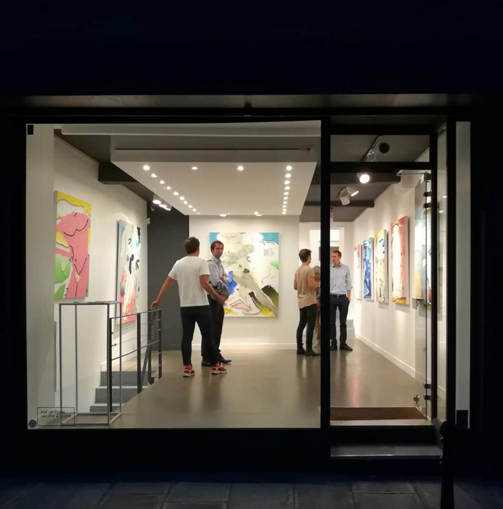 My Solo Show 'Nu Digital' at Julien Cadet Galerie in Paris.