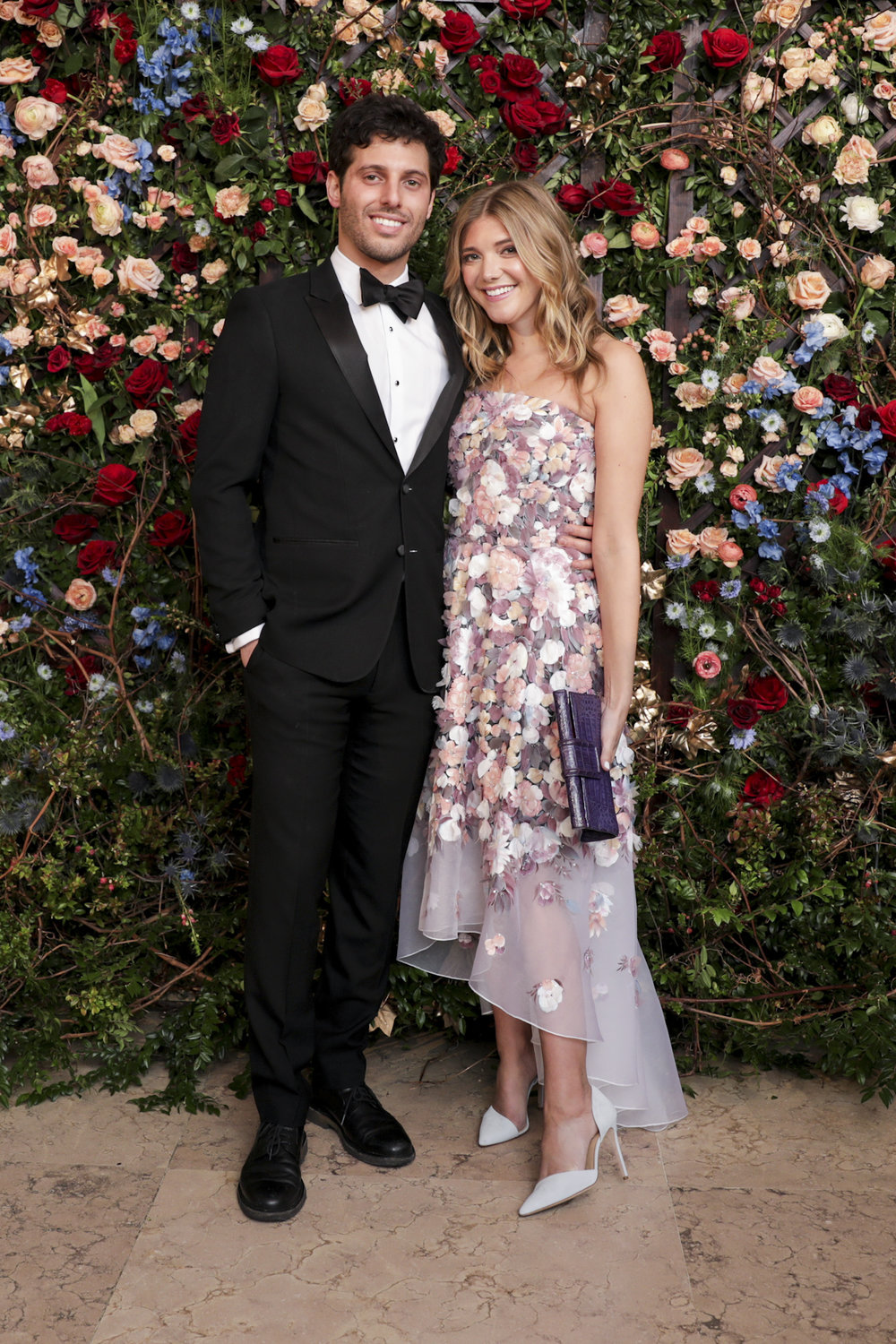 Brian Bochner and Katie Sands attend The Frick Collection's 20th Annual Young Fellows Ball at 1 East 70th Street on Thursday, March 21st, 2019. Photography, Courtesy of The Frick Collection.