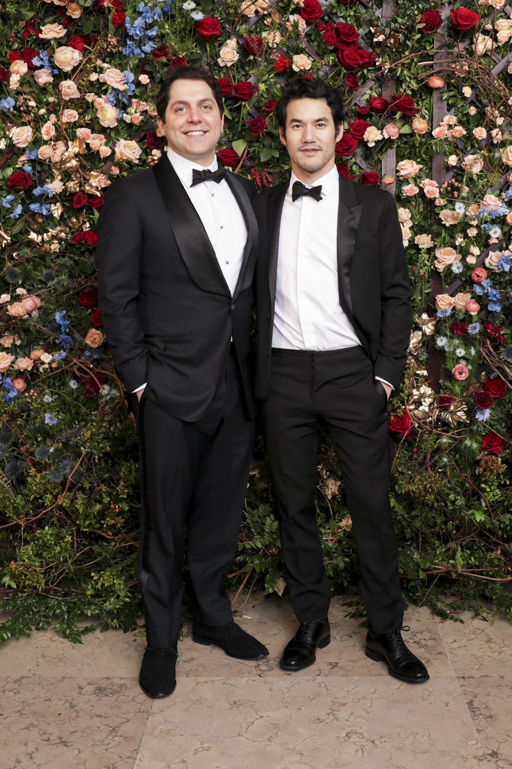 Seth Weissman and Joseph Altuzarra attend The Frick Collection's 20th Annual Young Fellows Ball at 1 East 70th Street on Thursday, March 21st, 2019. Photography, Courtesy of The Frick Collection.