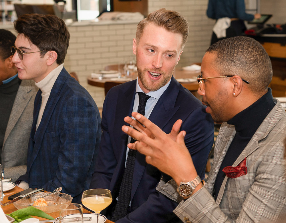 Ben Brewster, and Brandon Murphy attend the BOND OFFICIAL x InStitchu Brunch at Harold's on Saturday, March 23rd, 2019. Photography by, Inexora Media.