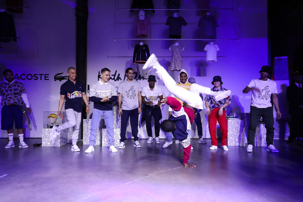 The Lacoste x Keith Haring Global Launch Party at Pioneer Works on Tuesday, March 26th, 2019. Photographed by Neil Rasmus/BFA.
