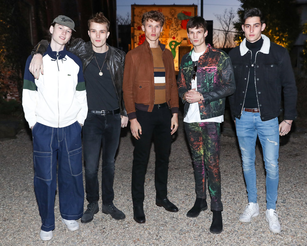 Guests attend The Lacoste x Keith Haring Global Launch Party at Pioneer Works on Tuesday, March 26th, 2019. Photographed by Neil Rasmus/BFA.
