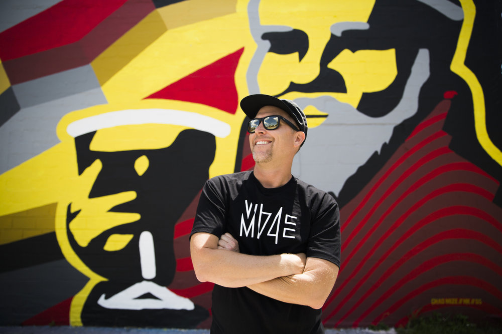 Local Mural Artist Chad Mize (Chizzy) - Downtown St. Pete.jpg
