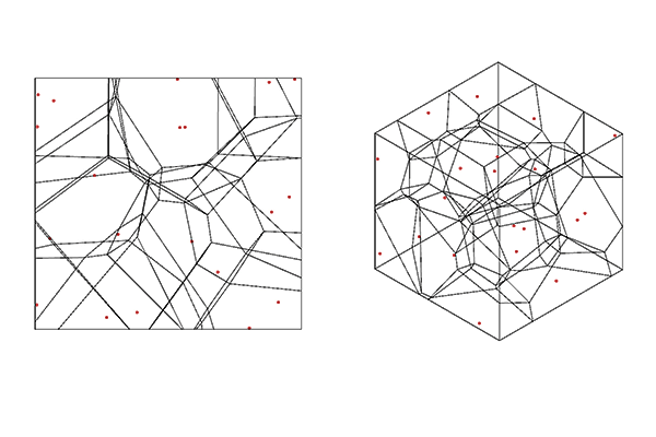 Voronoi Result Visualization