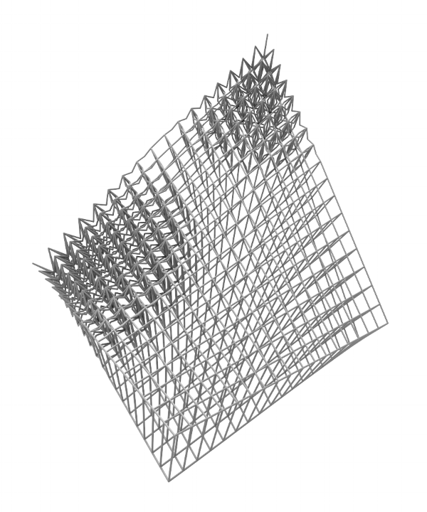 Result:   Blended Surface Lattice