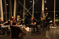Herb Hicks Quintet at our 1940's Dance Hall in May 2010