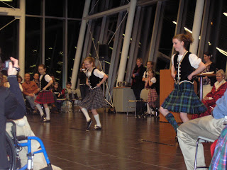 The Lethbridge Highland Dancers perform