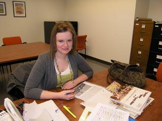 Ellie - wonderful event intern!