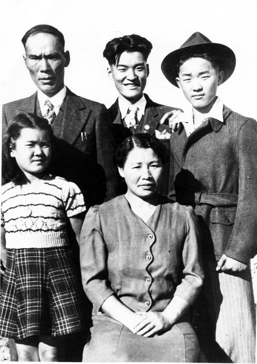 Takeyasu Family, 1943. Galt Archives 19790284003