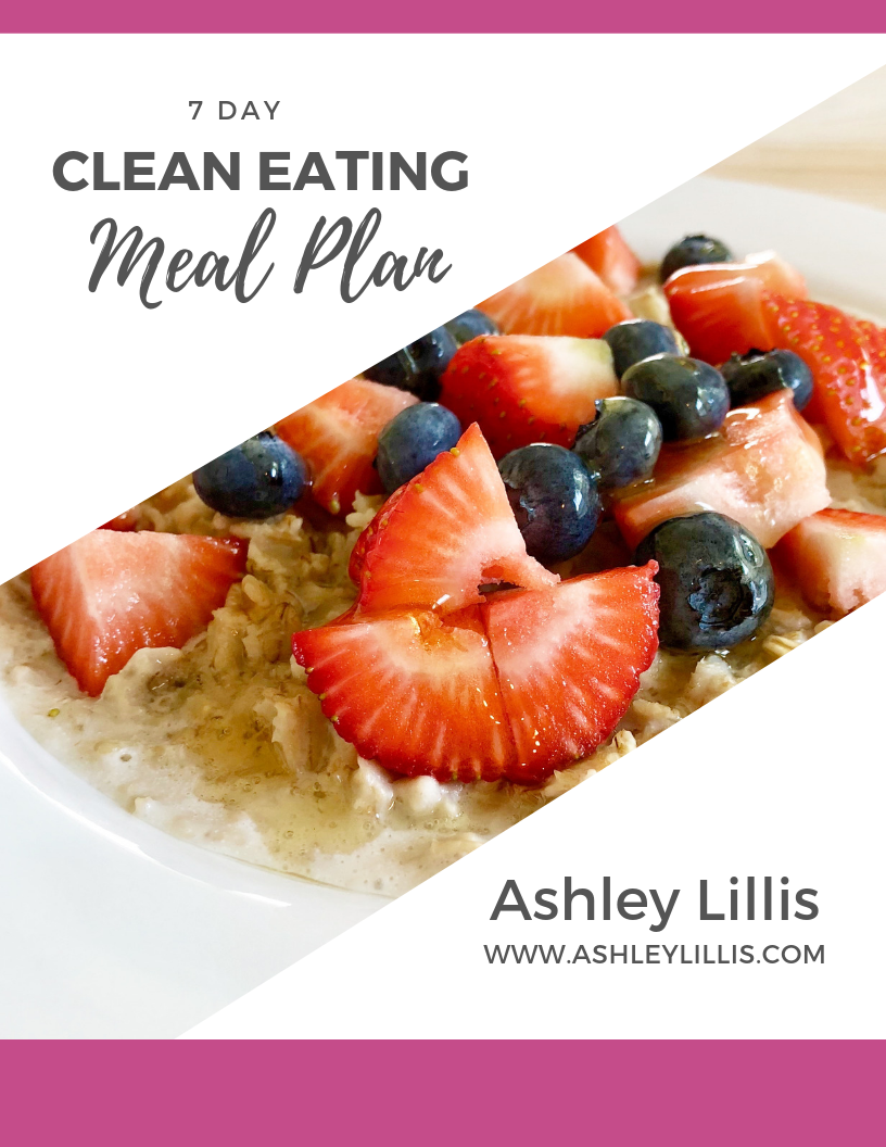 7 Day Clean Eating Meal Plan