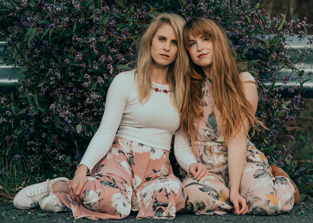 Mount lofty portrait session with Celia and Michelle in the beautiful Sakura bloom 2018