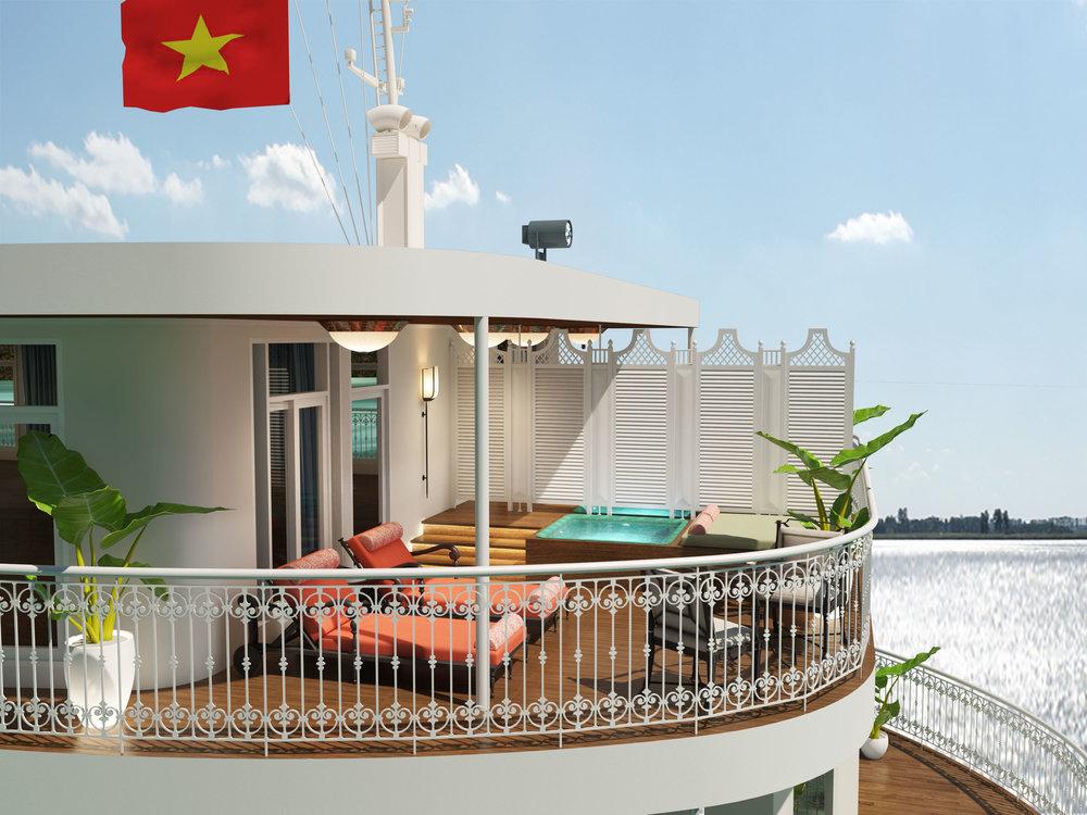 Grande Suite Balcony