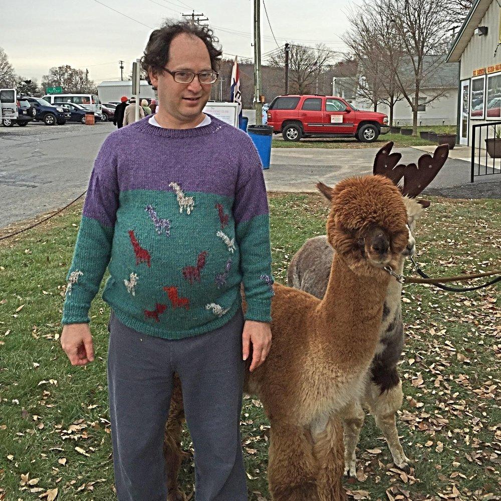 Sam Barsky's Alpaca Sweater