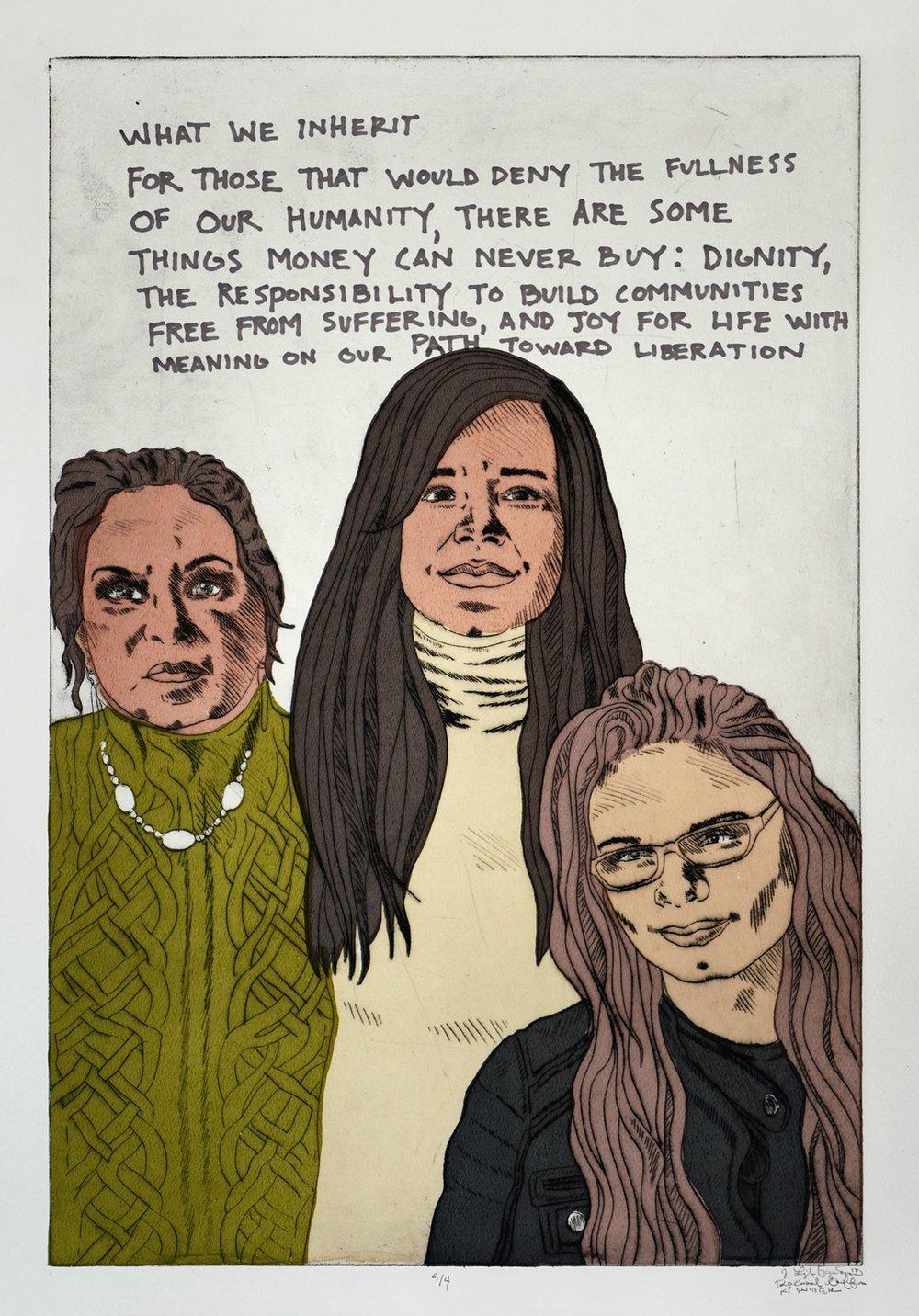 Freya, Christine, Livia