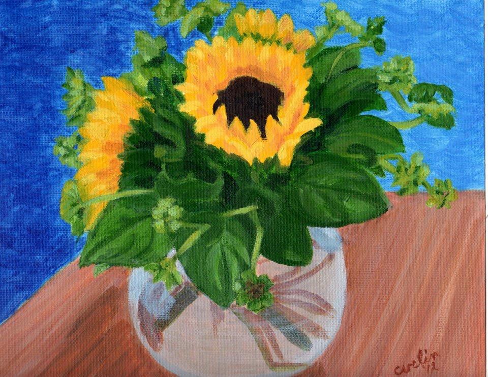 """Birthday sunflowers"" sold"