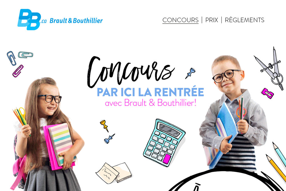 BRAULT & BOUTHILLIER    ///  Digital Marketing Campagnes de marketing