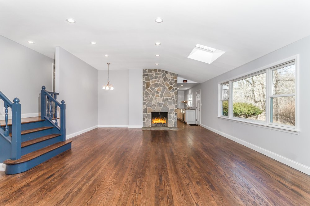 Copy of Real Estate Photography of a living room in Westchester's Ossini