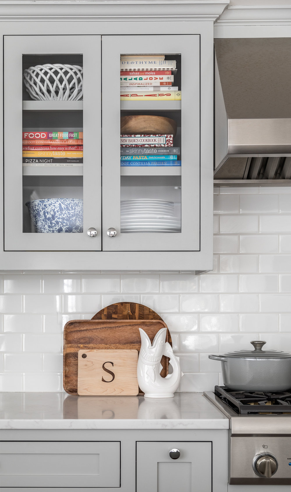 Kitchen decor accessories in a coastal design Fairfield County,