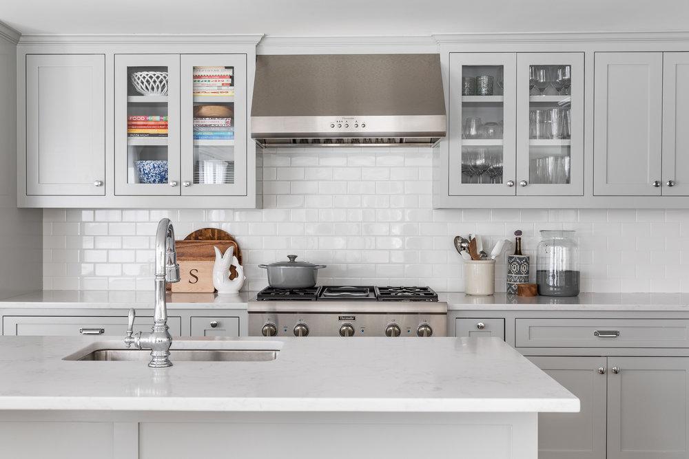 Coastal design kitchen in Connecticut.