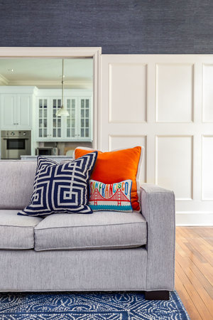 Interior Design Photography Of A Greenwich Living Room Andy Ryan