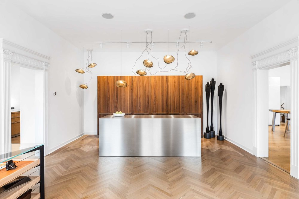 Commercial architectural photography of for a Luxury Kitchen Sho