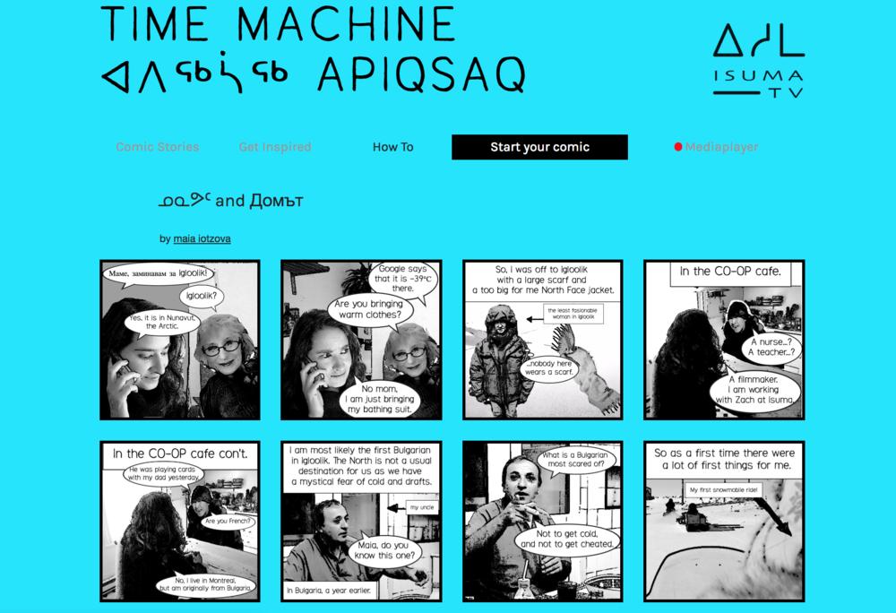 Time Machine - Comic Stories
