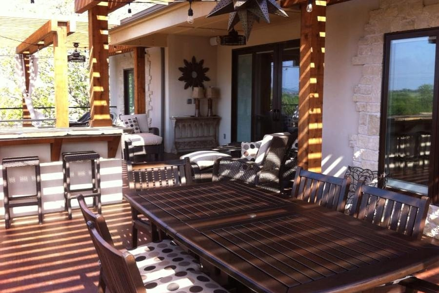 Complete Outdoor Living Spaces -