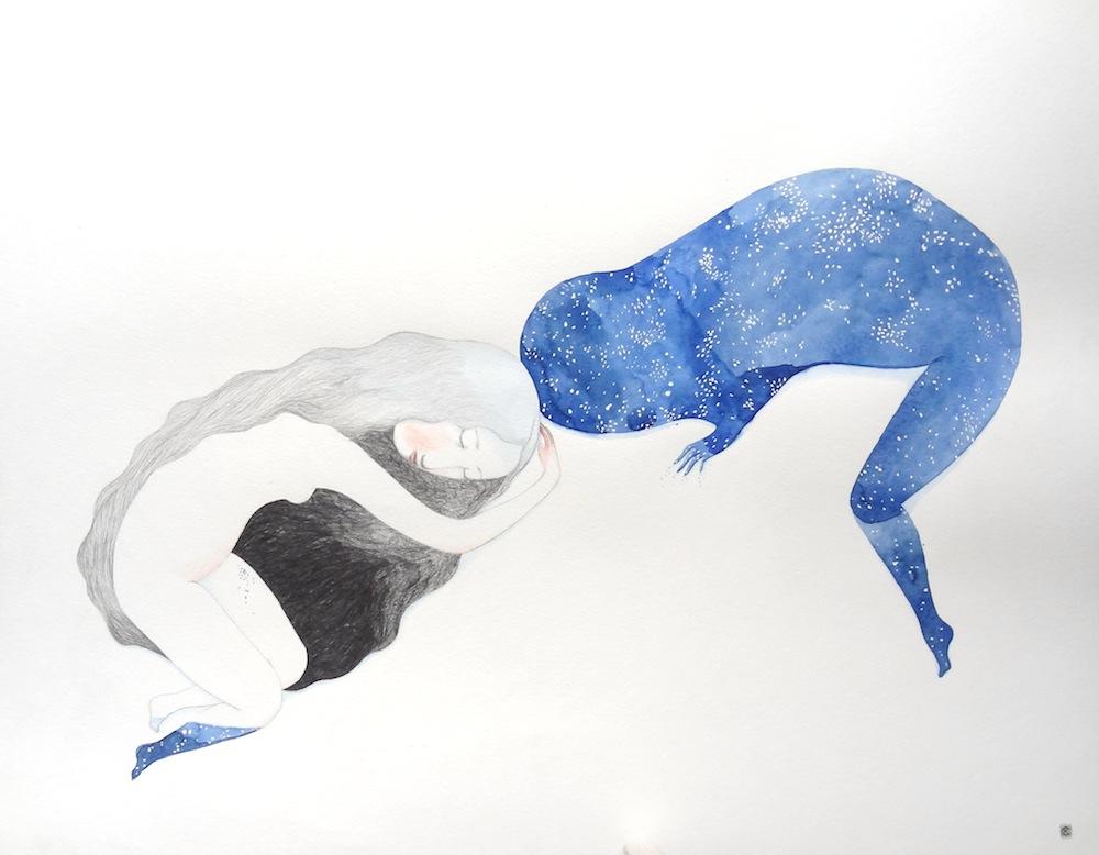 Le dormir et la pulpe des étoiles