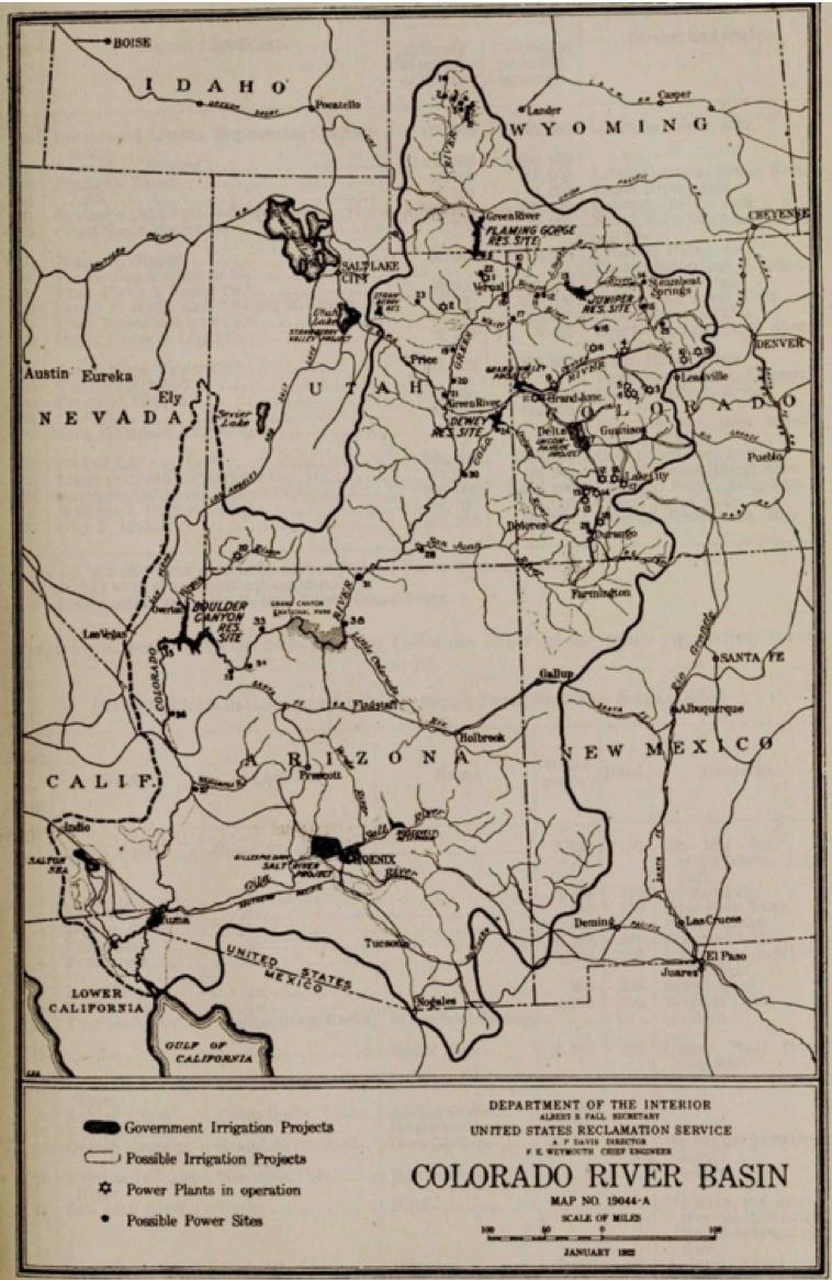 Fall-Davis Report map