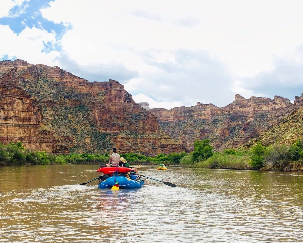 Desolation Canyon on the Green River. 📷  Alex Scholtz