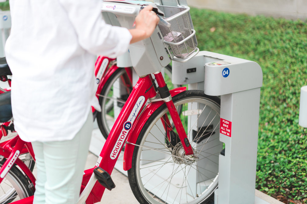 Dock Houston BCycle