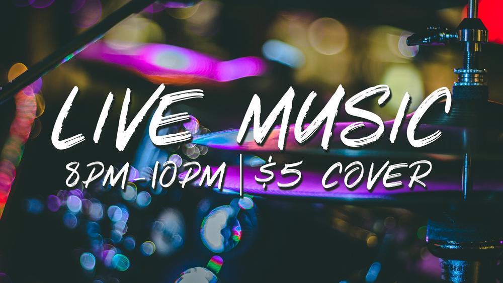 Live music at Blends Wine Bar