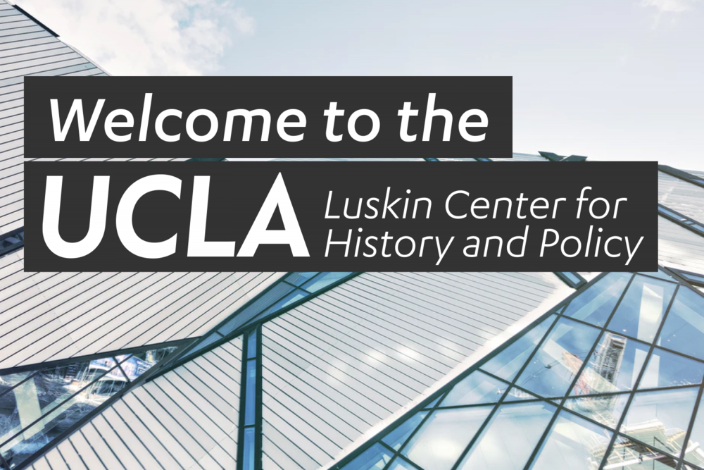 """Brenda E. Stevenson To Speak at UCLA Luskin Centerfor History and Policy: """"Antisemitism Past and Present"""" - Dr. Brenda E. Stevenson will serve as a panel member for the UCLA Luskin Center for History and Policy's discussion """"Antisemitism: Past and Present Reflections on the Aftermath of Pittsburgh."""" Panelists will offer a range of historical and contemporary perspectives on this latest incarnation of what has been called """"the longest hatred.""""Tuesday, November 27, 2018 